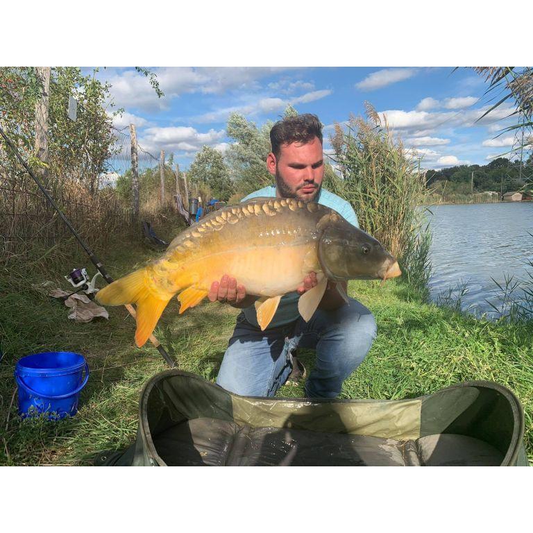 A nap utolsó, egyben legnagyobb hala 7,70 kg-ot nyomott