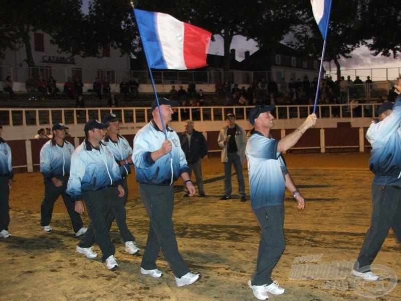 Itt voltak a franciák...