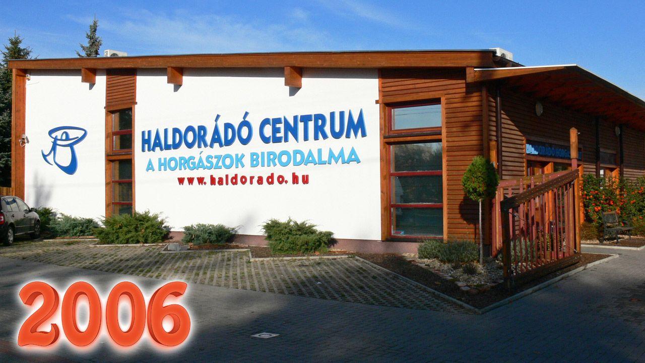 2006-ban költözött át új, tágas és modern épületbe a Haldorádó