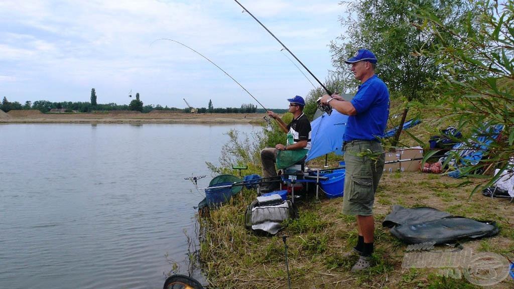 Ezen a versenyen megértettük, hogy a csapatmunka a horgászatban is kulcskérdés! Az eredmény több mint 200 kiló hal 24 óra alatt!