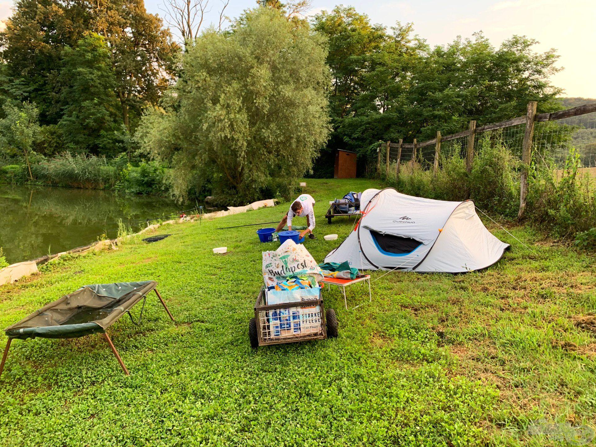 Alakul a táborhely