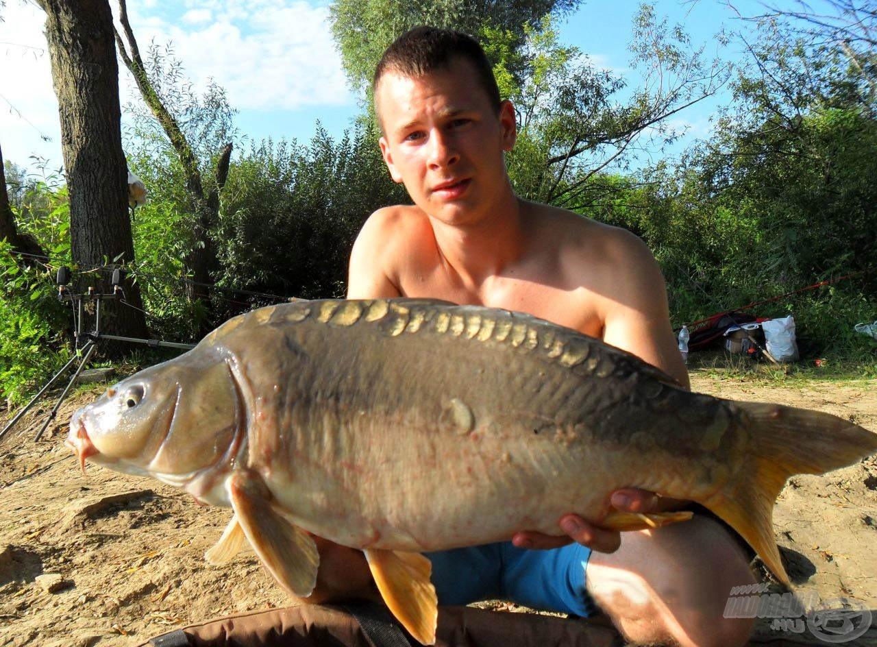 Nappal is bejött azért egy-két szebb hal