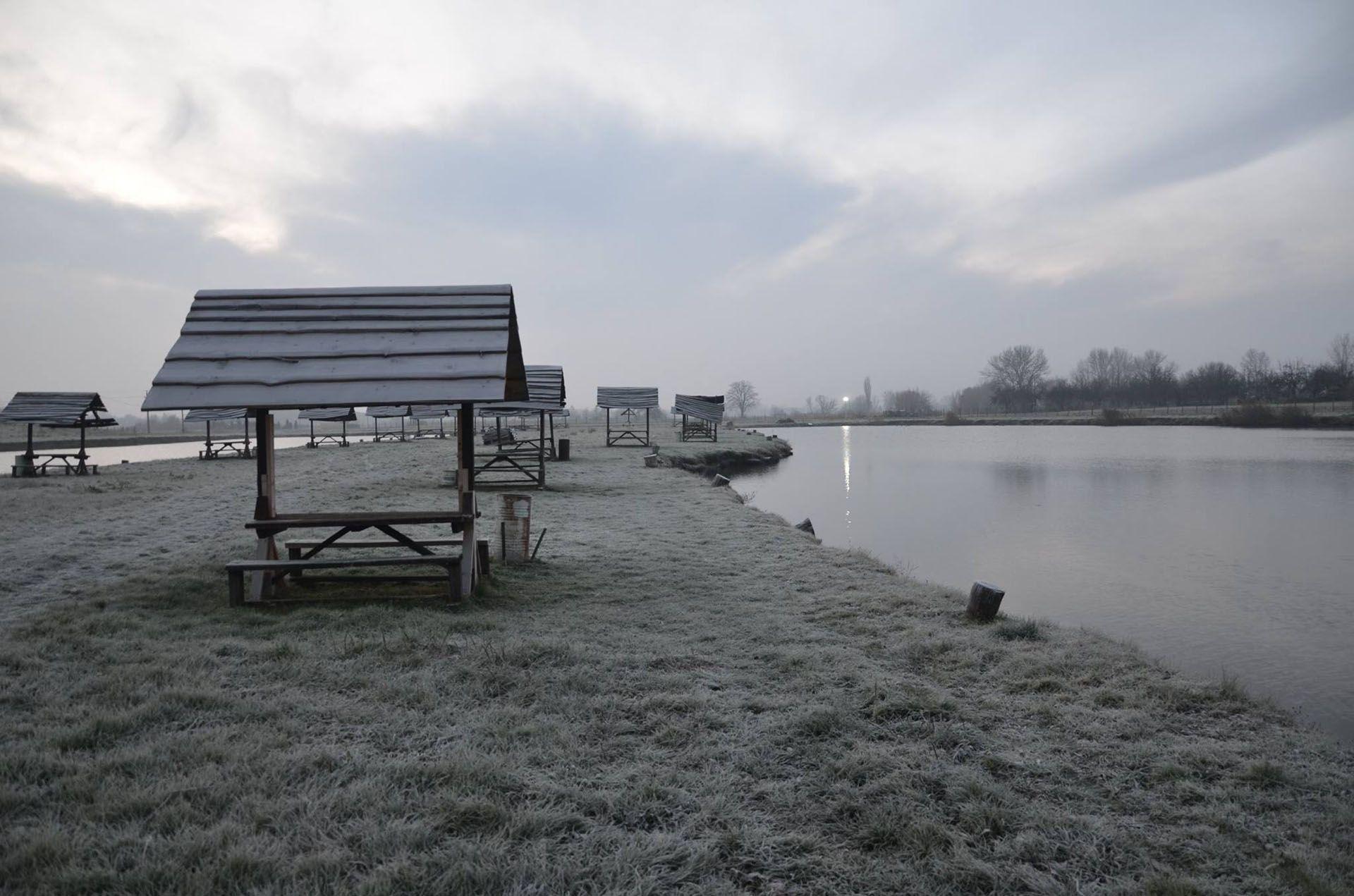 Bár még csak december elejét írtuk, a körülmények tényleg téliesek voltak: szombat reggel keményen fagyott, -3 Celsius-fok volt