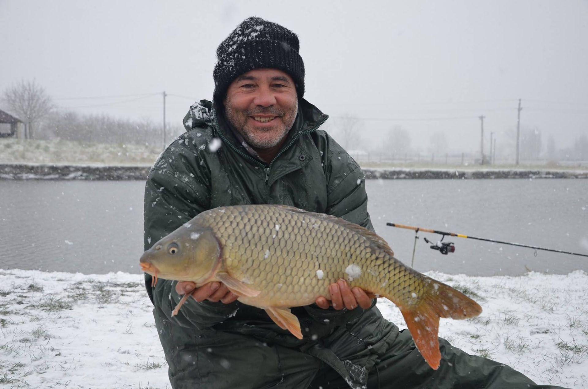 Csővári Tibor fogta a legtöbb halat a 2. fordulóban
