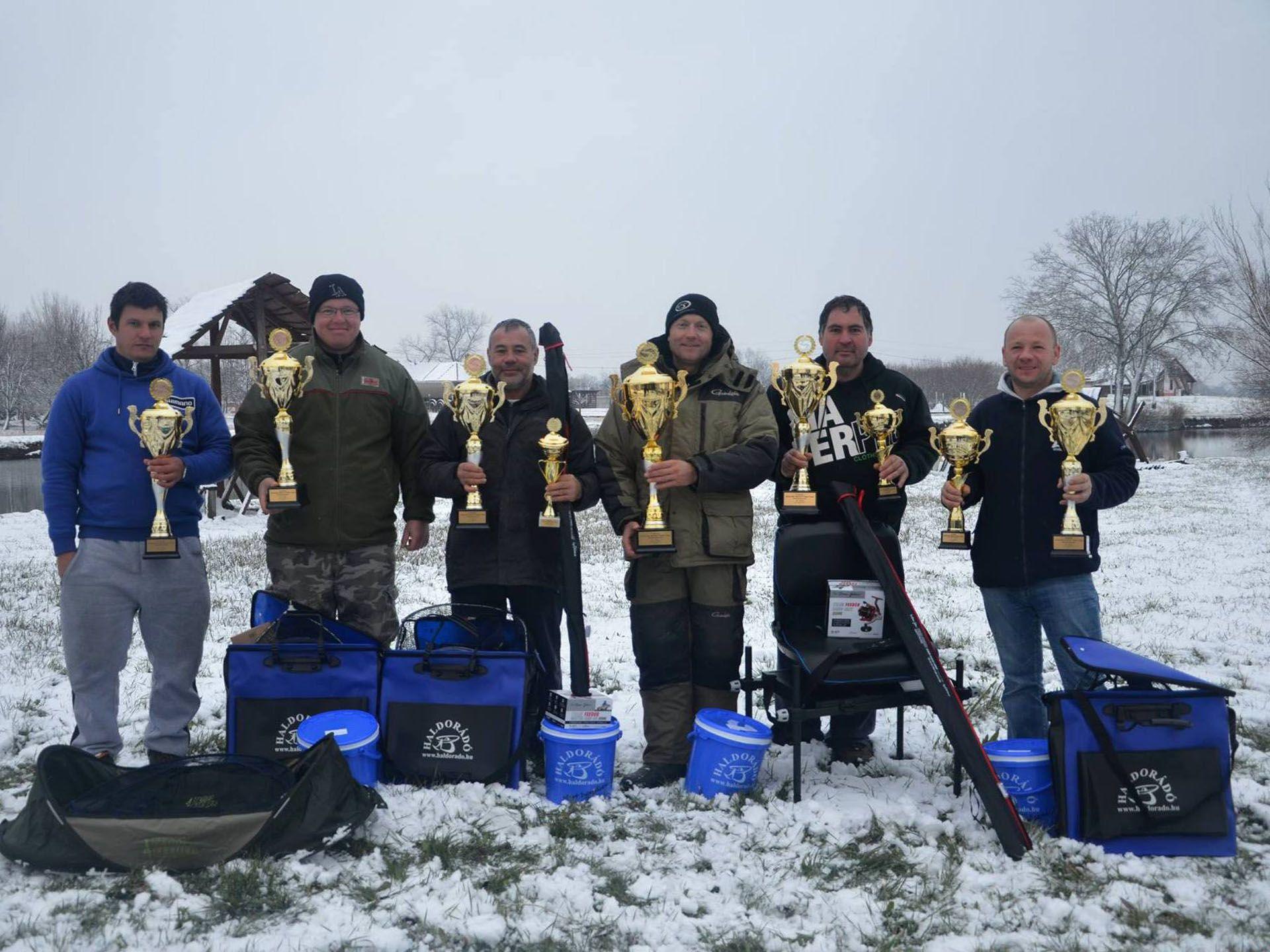 A 4 évszak Haldorádó Method Feeder Kupa legeredményesebb 6 versenyzője