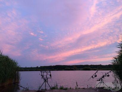 48 óra a Keve Horgászparkban