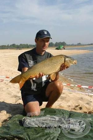 Ivan Kiraljnak a bajnokság legnagyobb halával
