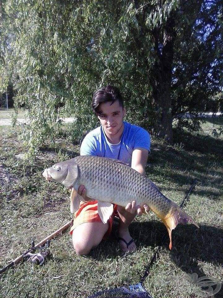 Matchbottal fogott egyik legnagyobb halam