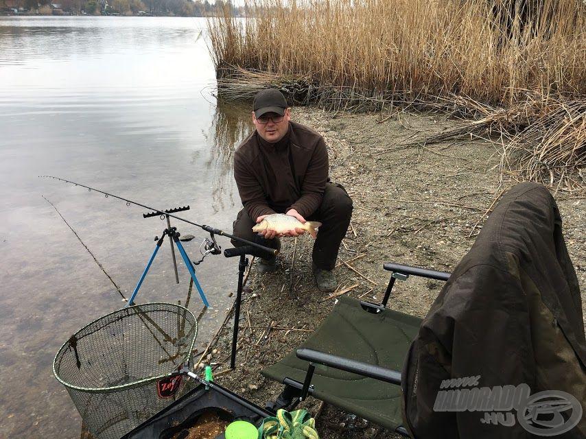 A method feeder technika a kedvencem. A 2019. év első hala…