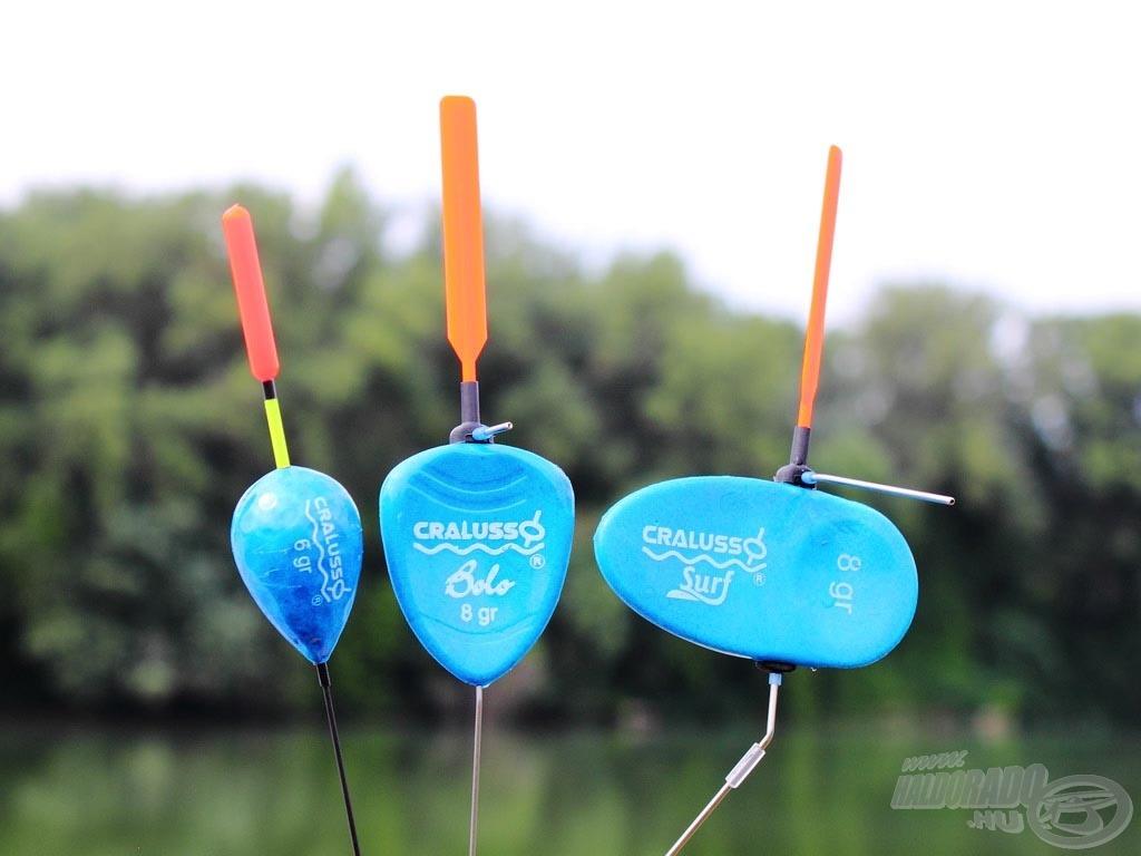 A következő részben bemutatásra kerül a Bolo úszó mellett a Golf, valamint a tradicionális Cralusso úszó a Surf is