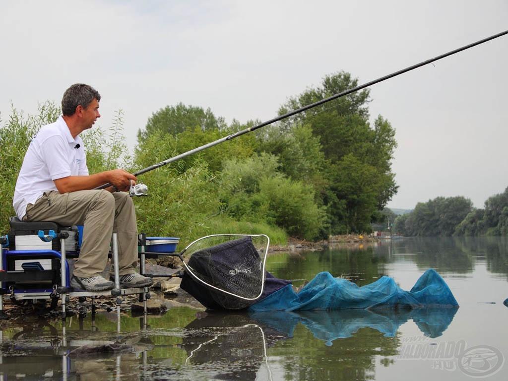 Nyugalom, csend, sok hal - a bolognai botos horgászat igazi élmény ilyen körülmények között