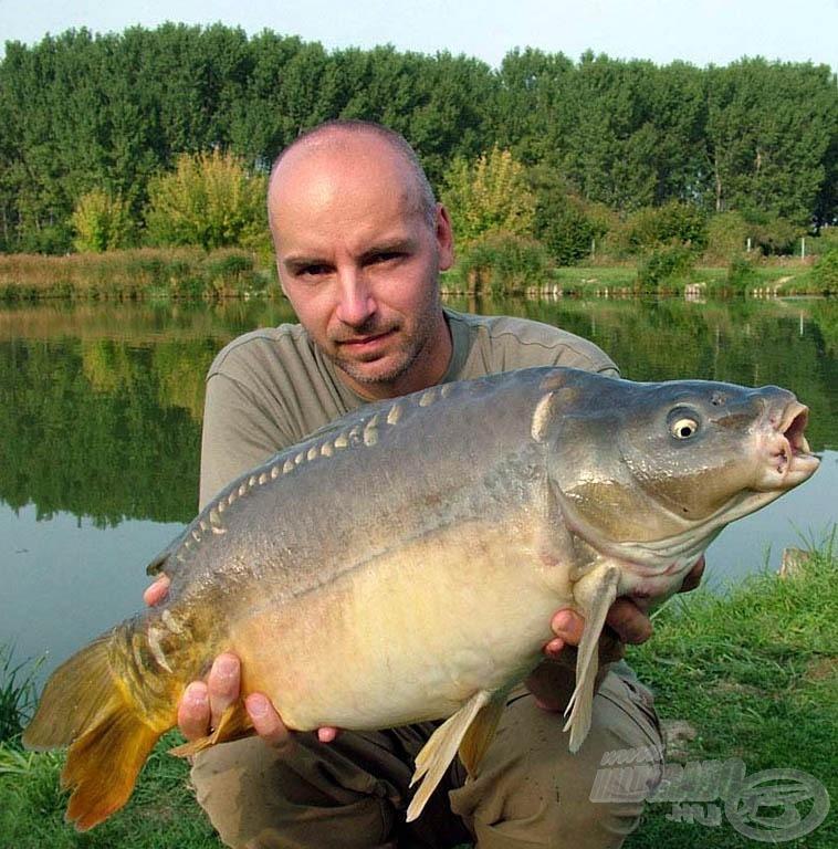 A halak átlagsúlya közel 7 kg volt