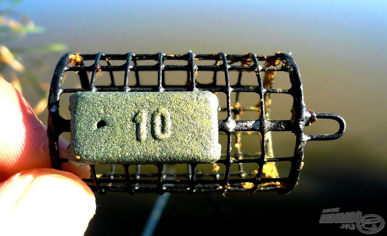 Jelen esetben a 10 grammos kivitel szolgáltatott kiindulási alapot