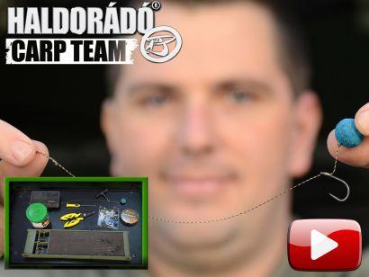 A Haldorádó Carp Team kötései, végszerelékei 1. rész – Not-A-Knot rig, a csomómentes hajszálelőkés horogkötés