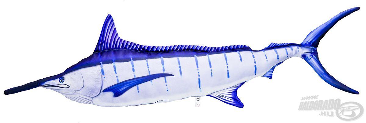 Szintén emblematikus, sósvízi ragadozó a kardhal, mely az előbbivel azonos méretű