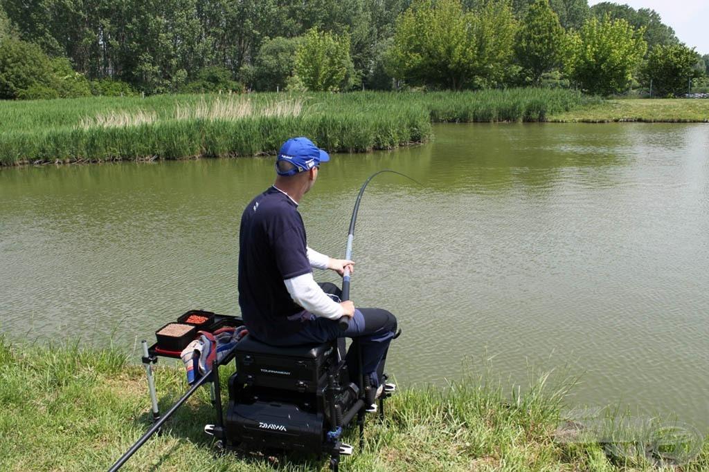 Komplett horgászláda