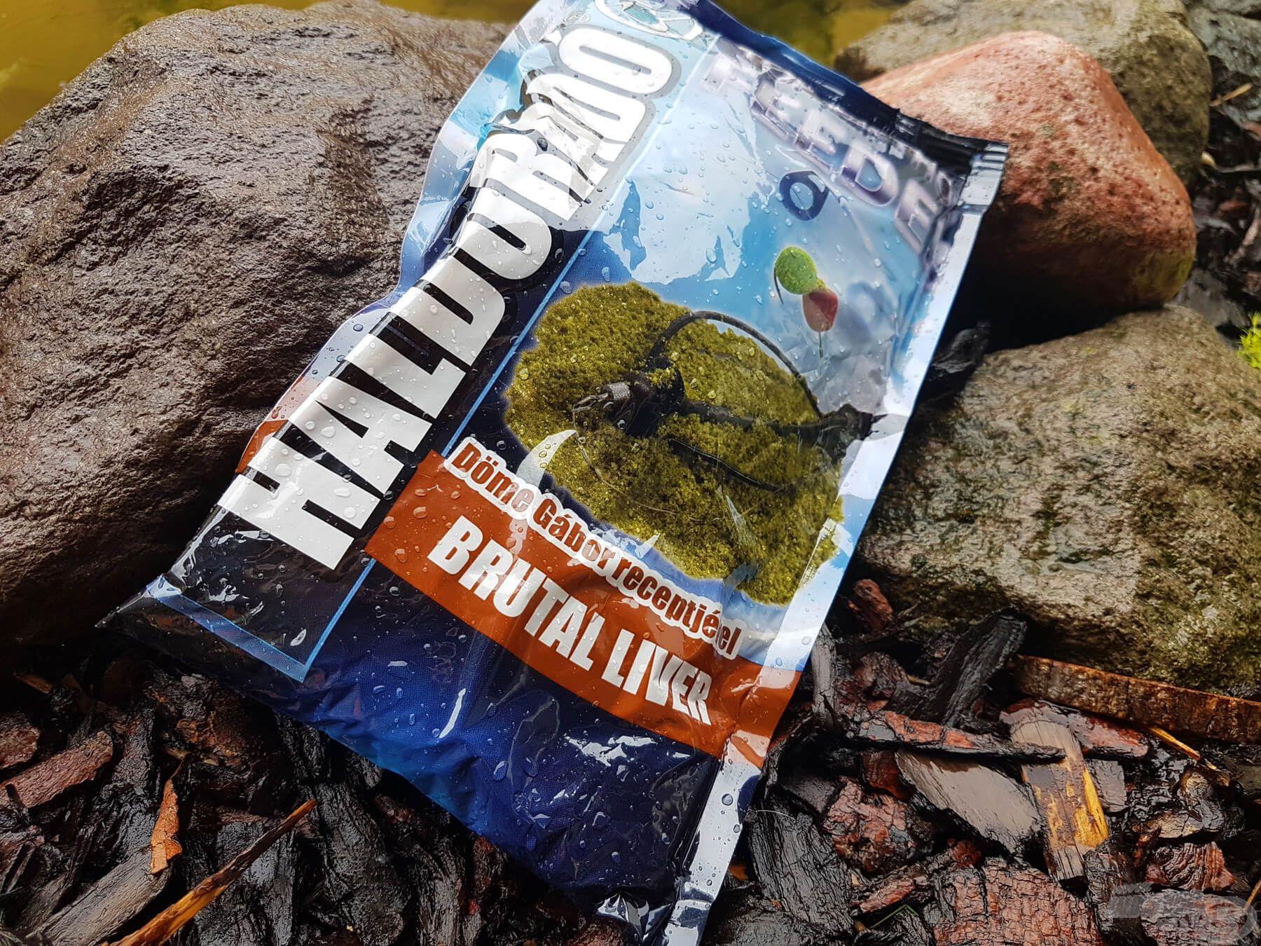 A Brutal Liver etetőanyag egy igazán tömény, erősen májas etetőanyag, amit leginkább a felmelegedett vizekben érdemes bevetni. Kora tavasszal én leginkább még csak mikropellet panírozására szoktam használni kis mennyiségben