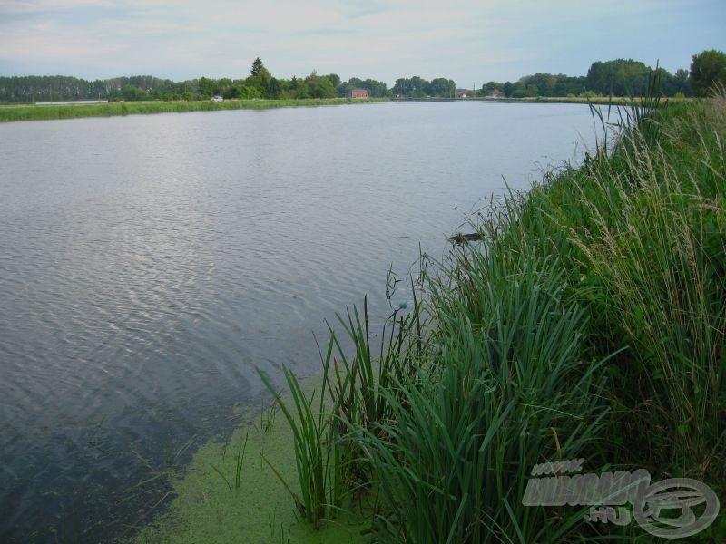 Csatorna jellegű, sekély vizű folyó