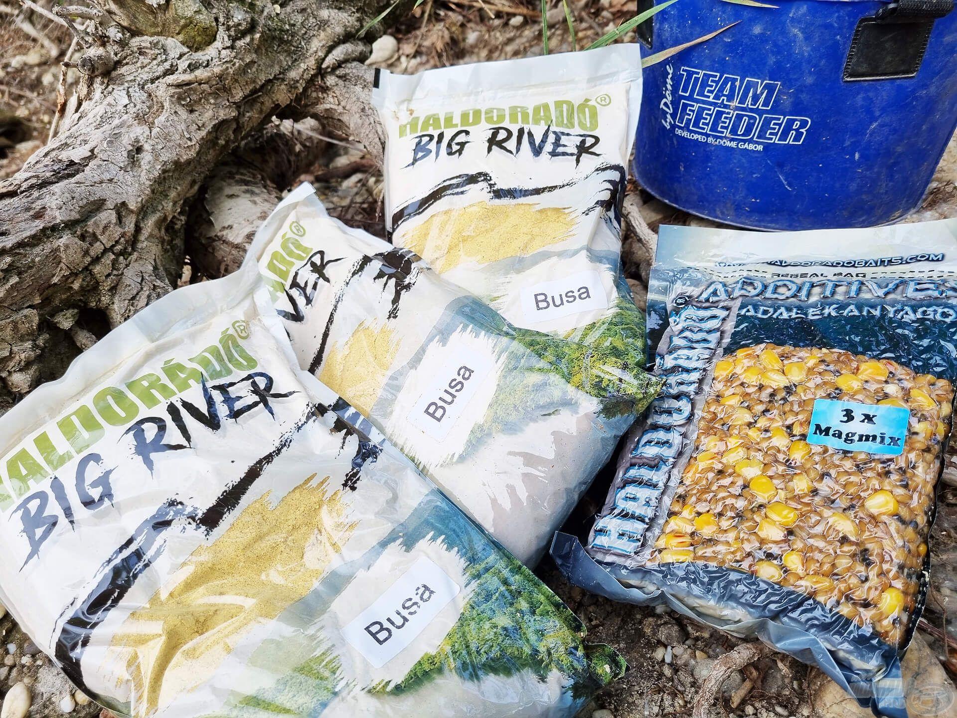 3-4 csomag Big River Busa etetőanyag sok szép élményhez segíthet hozzá minket. A vegyes magmixet az olykor etetésre tévedő amuroknak szánom