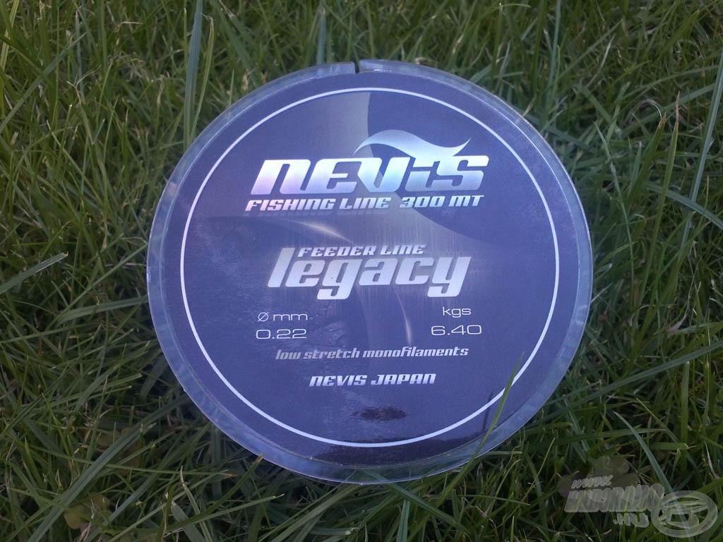 A dobra főzsinórként Nevis Legacy Feeder line került