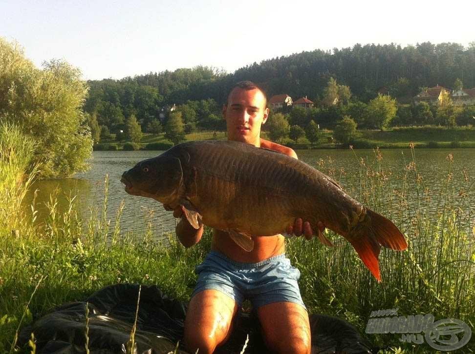 Gyönyörű hal, és a súlya 15,46 kg…
