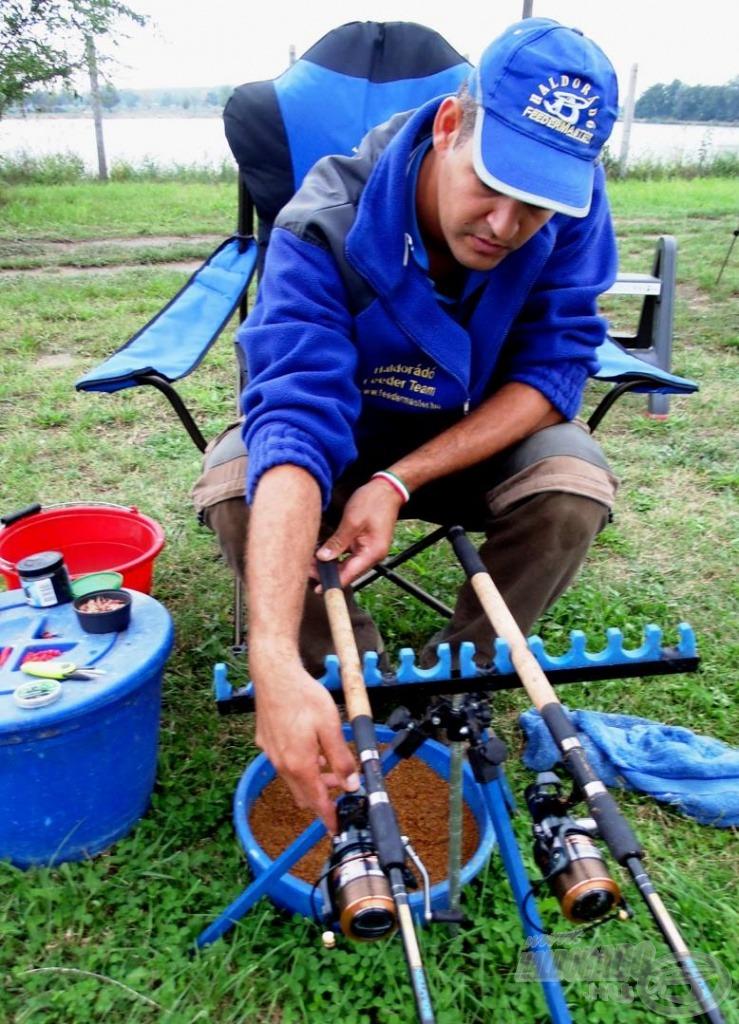 … közeli horgászatnál célszerű a nyeletőfék használata