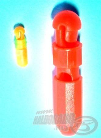 Dávid és Góliát - mini gyorskapocs a vékony, míg extra nagy a vastag csőgumikhoz