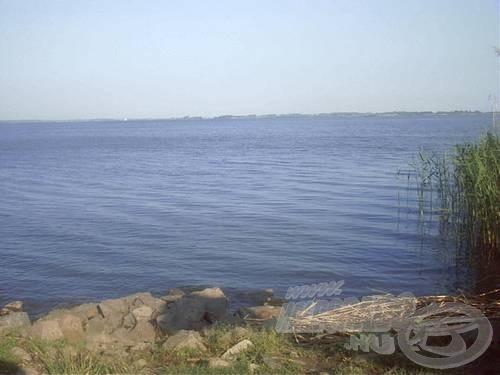 A Tisza-tó szalóki öble, ahol nem csak a match boté lehet a főszerep