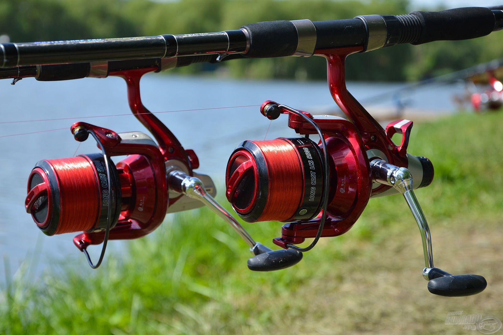 A By Döme TEAM FEEDER Long Cast, illetve Long Cast LCS 5500-as modellek bármelyike remek választás nagyhalas feederhorgászathoz
