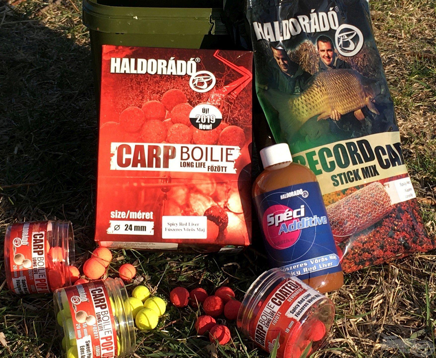 Egyik legnépszerűbb bojlink a Spicy Red Liver