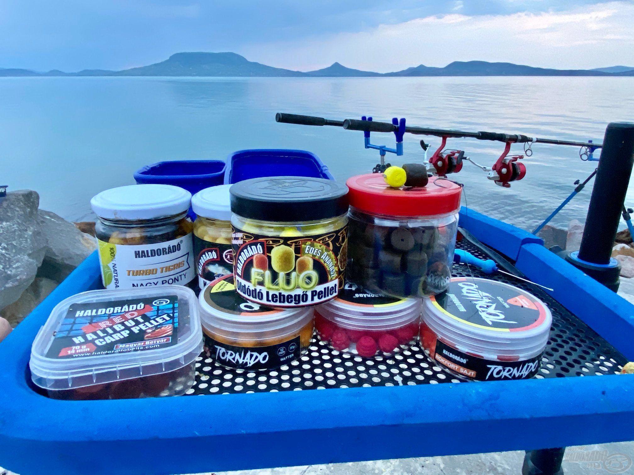 A megfelelő és tényleges, valós szelektáló hatást biztosító csali milyensége (színe, mérete, aromája stb.) többnyire az adott vízterülettől és az ott élő halak ízlésétől függ, tehát sokféle lehet
