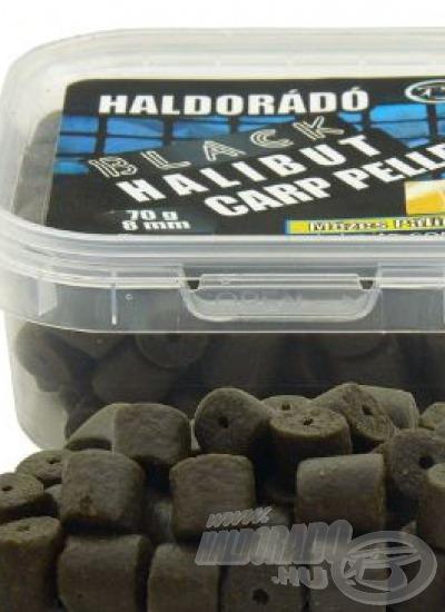 Black Halibut Carp pellet