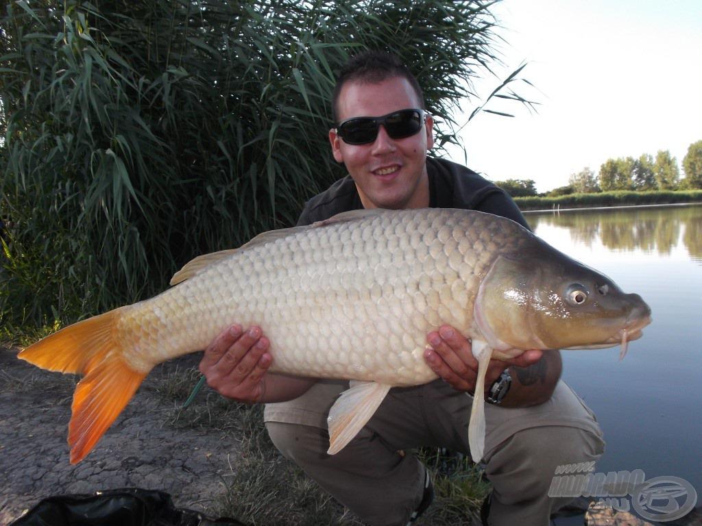 A horgászat legnagyobb hala, 7,78 kg volt a pontos súlya
