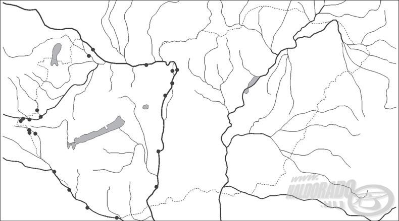 A dunai ingola hazai előfordulása