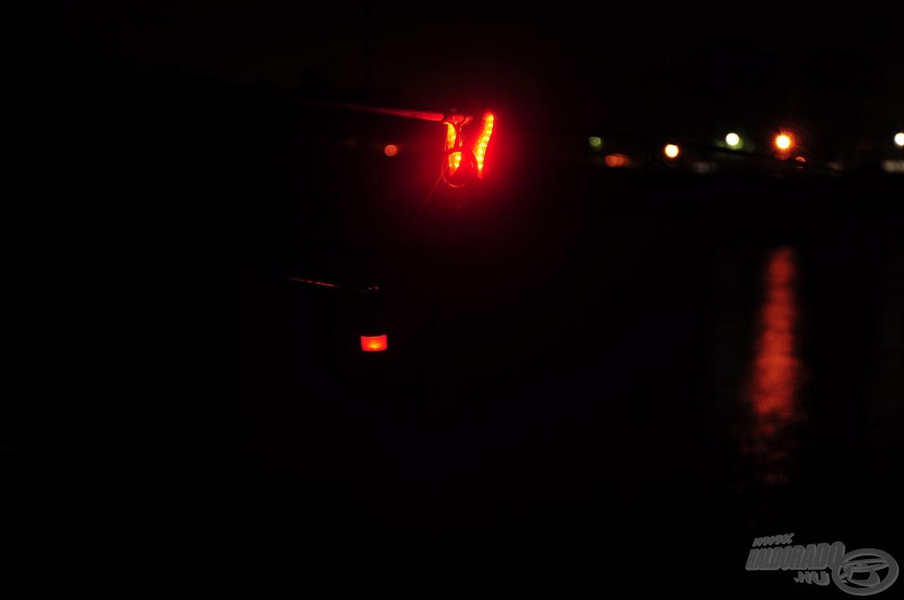 Szép pillanat, mikor az éjszaka csendjét áttöri a kapás éles hangja