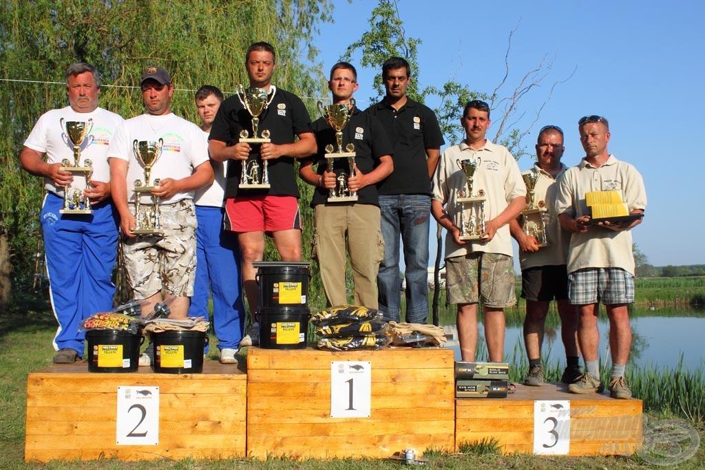 Szalai Árpád, az SBS, PB Products, Halcapone Team tagja 2012-ben rekordfogással nyerte meg csapattársaival a székelyi bojlis kupát