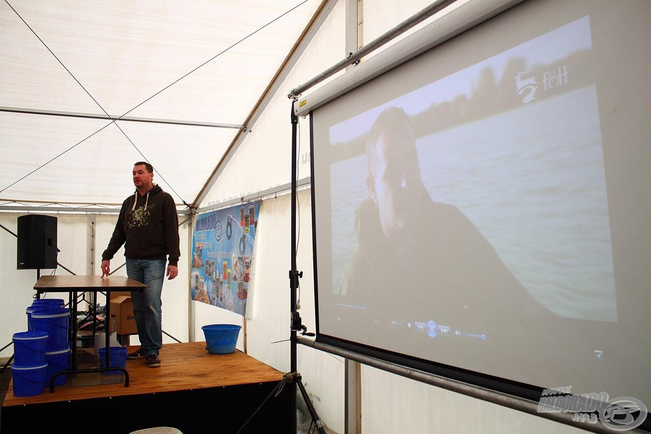 Tamás már tavaly is tartott nálunk előadást