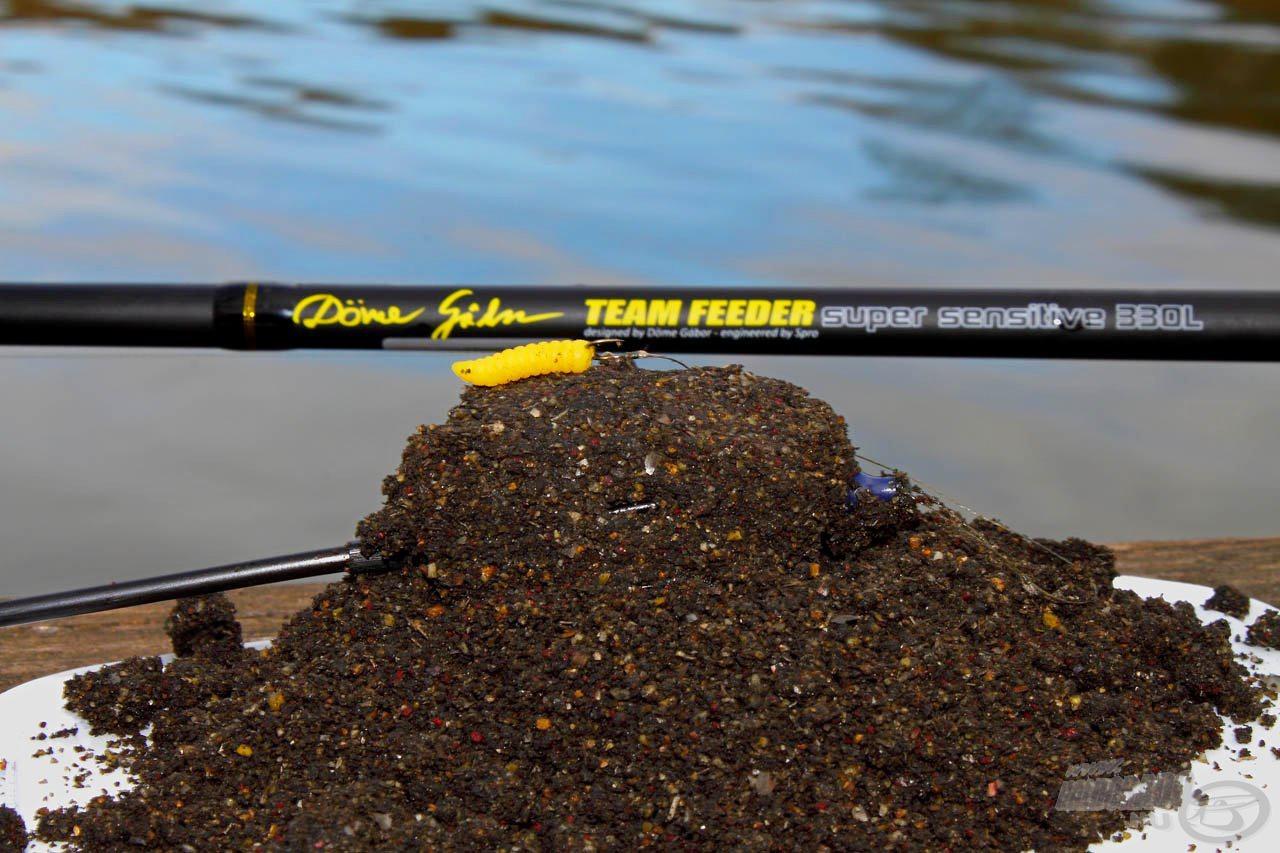 A Team Feeder Super Sensitive bot a tavaszi finomszerelékes horgászatok hatékony eszköze is kézbe vehető lesz a hétvégén