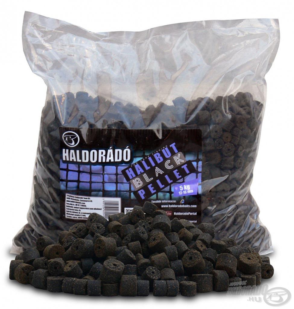 A Halibut pelletek 5 kg-os kiszerelésben is megvásárolhatóak