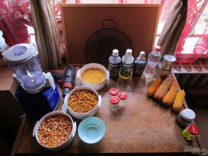 Adalékok és csalik kukoricából