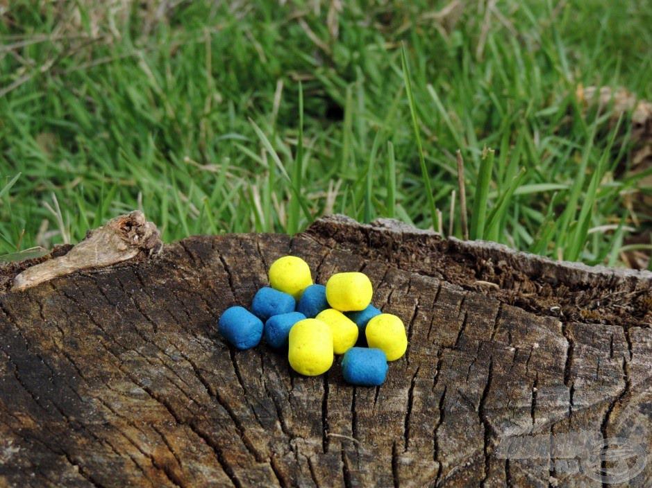 Sárga és kék, gyümölcsös ízek minden mennyiségben