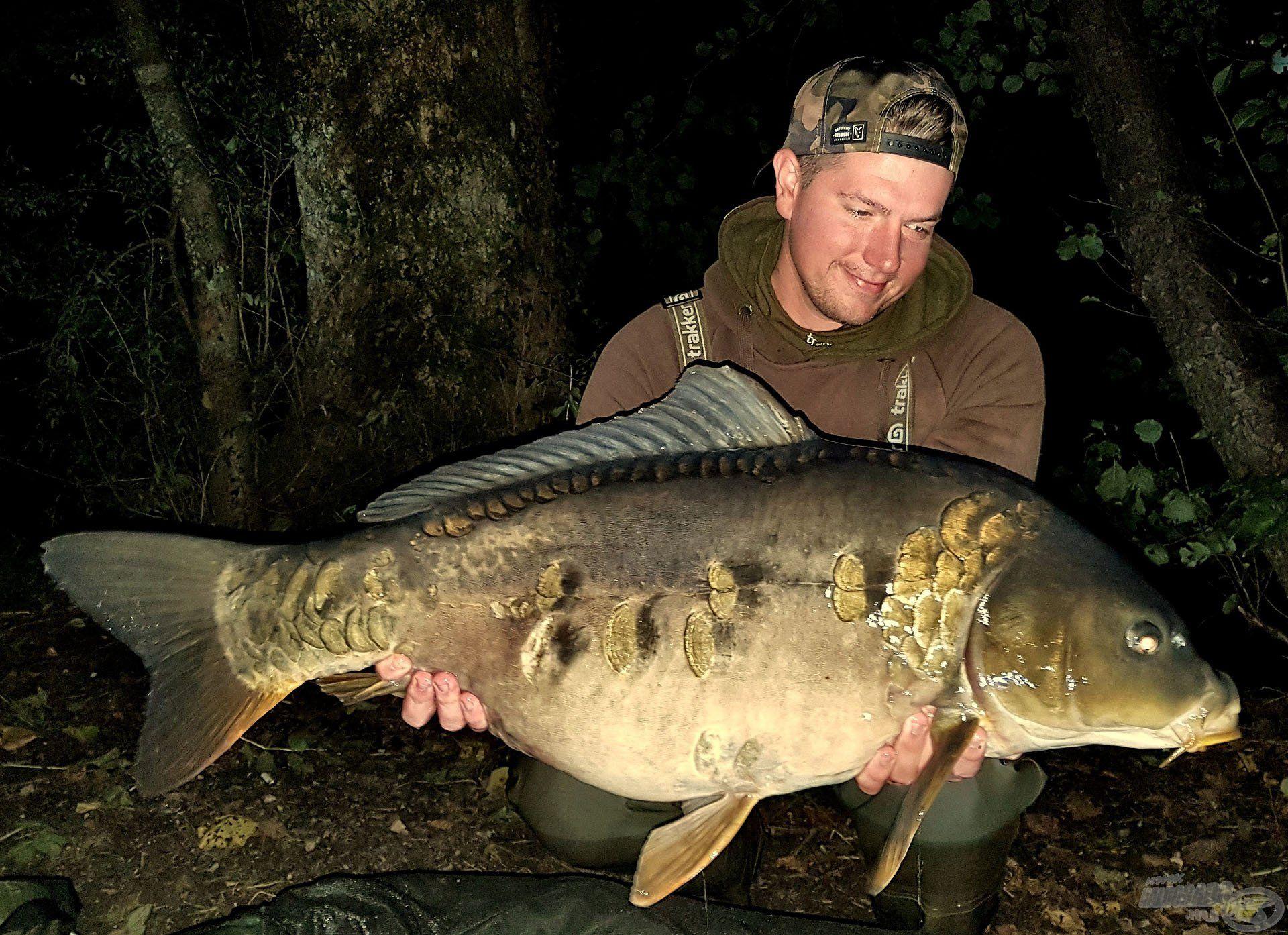 Életem egyik legszebb hala, ráadásul a Bledi-tóból!