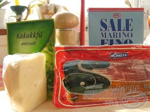 … bacon szalonnára, sajtra