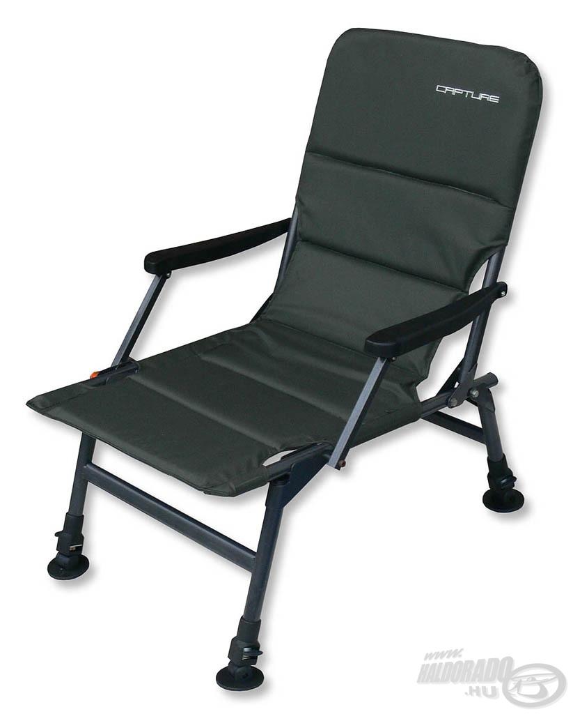 Ideális választás azoknak, akik a vízparton kényelmes fotelben szeretnének ülni