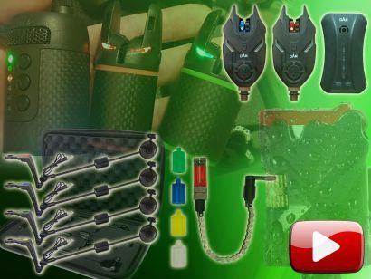 Ajándékötletek pontyhorgászoknak 1. rész – Elektromos kapásjelzők és swingerek