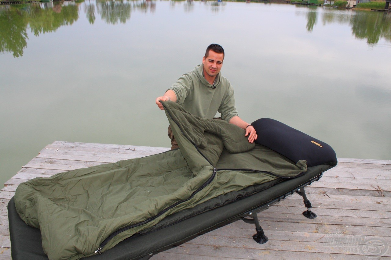 Ágy és hálózsák egyben a maximális kényelemért