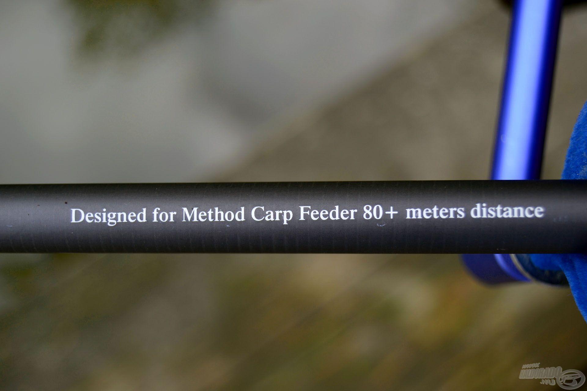 A 390-es Royal Method Carp bottal akár a 80 méteres…