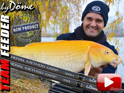Akcióban a By Döme TEAM FEEDER Royal Method Carp feederbot 2. rész