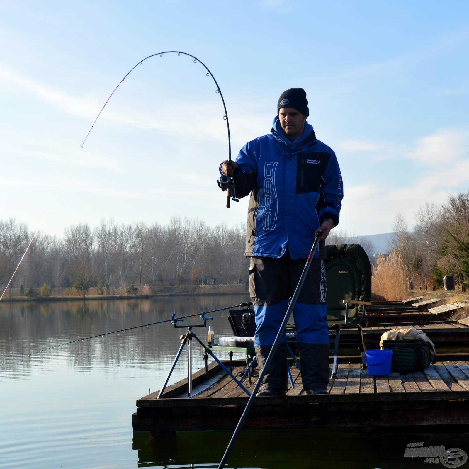Pickerbotos horgászat
