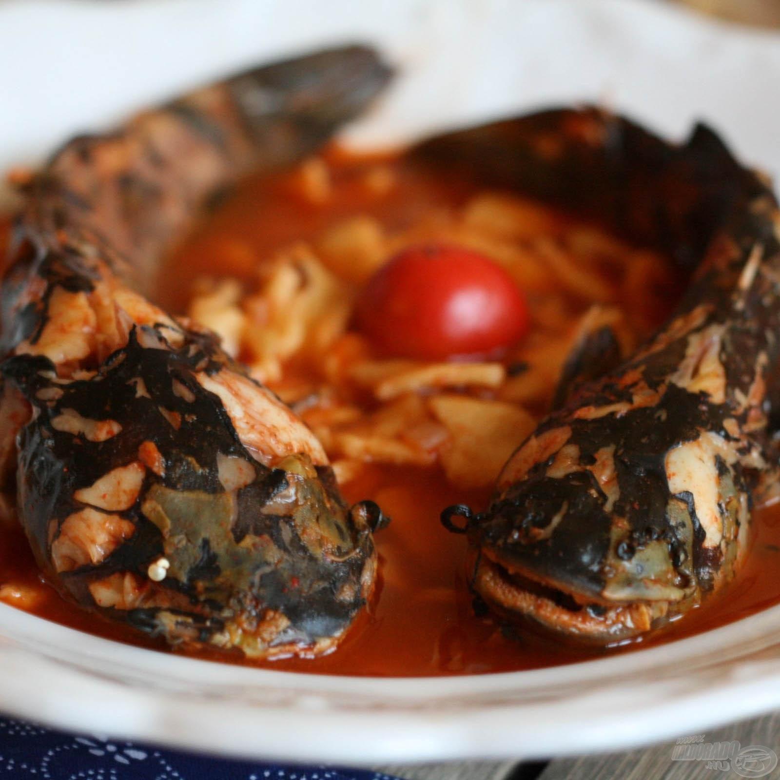 Ragadozó halból készült ételek